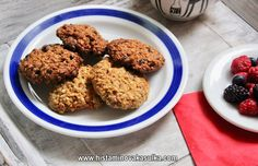 Ovesné sušenky s amarantem (podle Marthy Stewart) – A SPOON OF HISTAMINE Martha Stewart, Spoon, Cookies, Crack Crackers, Biscuits, Spoons, Cookie Recipes, Cookie, Biscuit