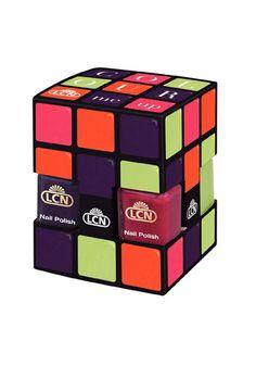 Rubics Cube Nail Polish - Yes please!