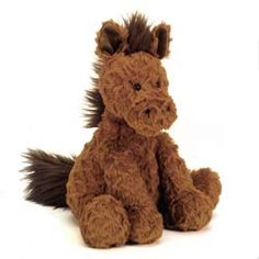 Jellycat Fuddlewuddle Foal - New for Spring 2014 - Size: Medium 23cm (9ins) - Price: £14.95 (GBP)