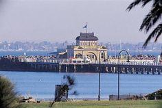 St Kilda Pavilion And Pier Melbourne Victoria Australia