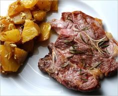 Rosemary garlic lamb shoulder chop–how to make cheap lamb tender