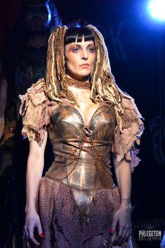 LAURA DIAMOND post apocalyptic dress by LauraDiamondShop on Etsy
