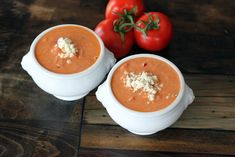 Tomato Gorgonzola Bisque. In this recipe I swapped out the heavy cream, skim milk and sugar with chicken broth and stevia. This cut a lot of calories, yet kept a lot of flavor. I LOVE this soup. I often add some baby lobster pieces from Trader Joe's to make a filling lunch.