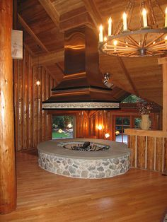 Superior Indoor Fire Pit By Tenhulzen Remodeling In 2006.