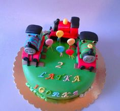 Urodzinowy tort Igora