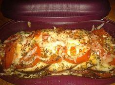 Légumes Gratinés dans le cuiseur solo tupperware - aubergines tomates