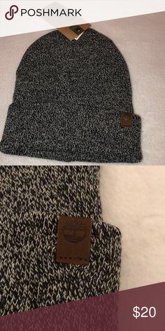 Men s Timberland Black Marled Winter Hat O S Men s black   gray Timberland  hat. 3952efaaff65