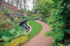 The East Village Chelsea Flower Show garden