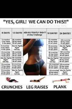 Visit www.prozis.com for more information on bodybuilding and sports nutrition. Yes girl, we can do this! #exercise #workout #gym #fitness #train #sport #effort #Prozis #weight    #crunches #leg-raises #abs #healthy-living