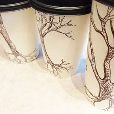 Sometimes, a blank coffee cup is the best doodle surface! Unleash your drawing skills on our paper coffee cups. Sip, sketch and share  ️ #coffeecupart #coffeecupdoodles #coffeecupdoodle #javadoodles #drawingtrees #treeart #coffeecup #drawingtime #sketchingtime #coffeeandart #cafelife