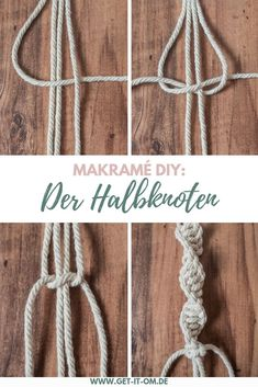 Einfache DIY Makramé-Blumenampel für deine Yogaecke DIY: Knot a simple macramé flower basket and give your yoga corner a boho vibe! The half knot and the half knot spiral are explained to you in this manual step-by-step! Diy Bracelets Easy, Bracelet Crafts, Gold Bracelets, Braclets Diy, Diy Bracelet Boho, Diy Bracelets Step By Step, Diy Bracelets With String, Thread Bracelets, Summer Bracelets