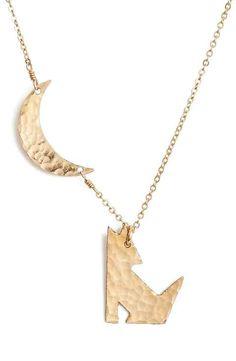 Nashelle Coyote Pendant Necklace