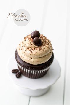 Chocolate Espresso Cupcakes.