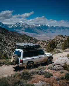 There's always this fine balance between building and modifying a vehicle to fit your exact needs. Every little bit of camping comfort is… Travel California Mitsubishi montero overlanding rig off-road roof top tent camping Mitsubishi Pajero, Roof Top Tent, Camping With Kids, Lifted Trucks, California Travel, Tent Camping, Offroad, 4x4, Toyota