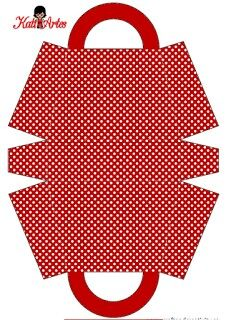 Polka Dots and Stripes: Free Printable Bags. - Polka Dots and Stripes: Free Printable Bags. Patchwork Bags, Quilted Bag, Bag Patterns To Sew, Sewing Patterns, Bag Quilt, Printable Paper, Free Printable, Paper Purse, Paper Bags