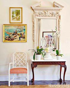 Яркий дизайн интерьера дома на Багамах от Amanda Lindroth