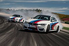 BMW M4 Coupe Drifting at Portimao Race Track - http://www.bmwblog.com/2014/05/11/bmw-m4-coupe-drifting-portimao-race-track/