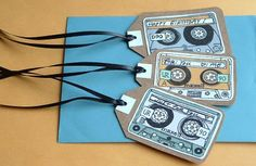 Cart Before The Horse: I made you a mix tape. Love these printable labels!
