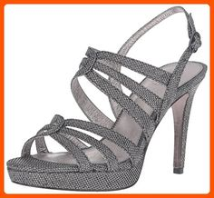 Adrianna Papell Women's Anita Dress Sandal, Pewter, 9.5 M US - All about women (*Amazon Partner-Link)