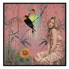 """Peaceful!"" by bellatz ❤ liked on Polyvore featuring art"