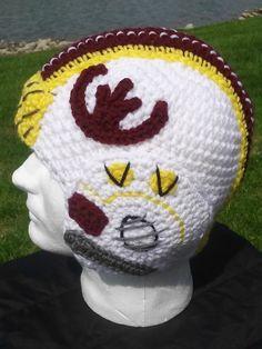 Star Wars inspired X Wing Crochet Helmet/Hat. Fighter pilot helmet. Rebel alliance. Geekery