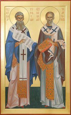 Prim Christmas, Father Christmas, Retro Christmas, Byzantine Icons, Byzantine Art, Saint Nicholas, Old Fashioned Christmas, Orthodox Icons, Christian Art