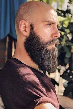 Bald Men With Beards, Bald With Beard, Great Beards, Full Beard, Bad Beards, Epic Beard, Awesome Beards, Long Beard Styles, Beard Styles For Men