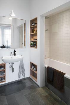 Inbyggt badkar & dusch