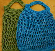 Ravelry: Crochet Market Bags pattern by Lynne Samaan