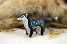 Hey, I found this really awesome Etsy listing at https://www.etsy.com/listing/253706718/jeans-fox-totem-figurine-sculpture