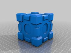 A friendly cube by teya - Thingiverse