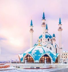 Architecture Discover A Beautiful Mosque in Kazan Tatarstan Rusia. Mosque Architecture, Religious Architecture, Ancient Architecture, Beautiful Architecture, Art And Architecture, Islamic World, Islamic Art, Islamic Images, Beautiful Mosques