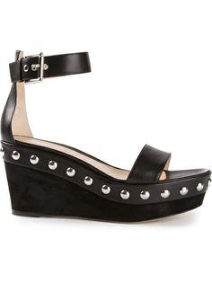 Gianvito Rossi - studded platform sandals 5