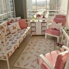 Personalize your home decoration with pretty digital printables. Living Room Decor, Bedroom Decor, Apartment Balcony Decorating, Balcony Design, Garden Chairs, Cozy House, Decoration, Home Goods, Toddler Bed