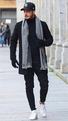 27 Really cool outfits from this influencer! winter mens fashion I would change the Stan's with a dark brown boot or a different shoe 48 Winter Outfit Street Style for Men Trend 2019 mens outfits that looks fabulous 49771 Discover the details that make Mode Masculine, Stylish Men, Men Casual, Stylish Outfits, Casual Menswear, Smart Casual, Simple Outfits, Work Outfits, Outfit Stile