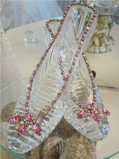 Crystal Glass Slippers - cinderella ... come baaaaack!