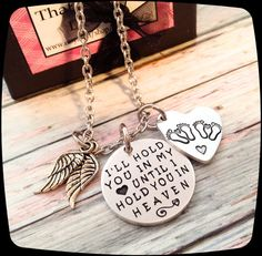 Miscarriage gift Twins Loss of Twins Remembrance by ThatKindaGirl