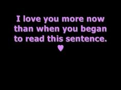 I Love You Quotes - YouTube