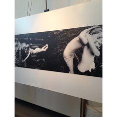 Gekozen zwart-wit foto van de workshop bij de a-kerk