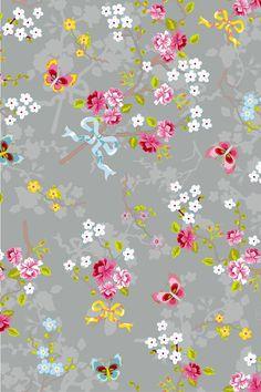 Pip Studio Chinese Garden Wallpaper Yellow For the Grey Wallpaper, Mobile Wallpaper, Wallpaper Backgrounds, Iphone Wallpaper, Vintage Diy, Vintage Paper, Wallpapers Kawaii, Flower Patterns, Print Patterns