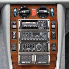 MB-EXOTENFORUM - Sonderkarossen/Umbauten/Tuning - W126: 500 SEL Carat auf der Techno Classica in Essen Clarion Car Audio, Hi Fi System, Mercedes Amg, Audiophile, Radios, Cars And Motorcycles, Vintage Cars, Jeep, Porsche