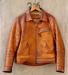 Men's jackets really are a crucial component to every man's closet. Men will need jackets for a variety of situations as well as some climate conditions. Men's Jacket Seasonal. Vintage Leather Jacket, Leather Men, Leather Jackets, Custom Leather, Jacket Style, Vest Jacket, Cargo Jacket, Bomber Jacket, Motorcycle Jacket