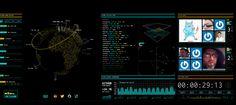 Watch Live Data Streams On Tron: Legacy's Awesome Encom Display