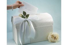 Wishing Wells are the perfect way to collect cash or money gifts in place of a 'Bride's Dance'.