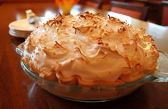 May  8 - National Coconut Cream Pie Day:  Coconut Cream Pie (click photo for recipe). Courtesy of Julie Garner, Pastry Chef at Four Seasons Hotel Austin.  Four Seasons pastry chef Julie Garner shares a coconut creme pie recipe that has been passed down from her Mommaw, to her mother, and finally to her. Since she's the baker in the family, she's always expected to make it for holiday get-togethers.