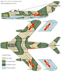 MiG MiG-17/J-5/Lim-5/Lim-6 Fresco | North Vietnam | MiG-17F | 1905