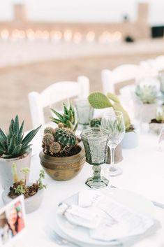 Romantic Wedding in Milos island Greece Bohemian Chic Weddings, Boho Wedding, Destination Wedding, Protea Wedding, Wedding Bouquets, Create Wedding Invitations, Wedding Dress Train, Greece Wedding, Wedding Dinner