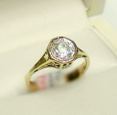 yellow gold engagement rings - Google Search
