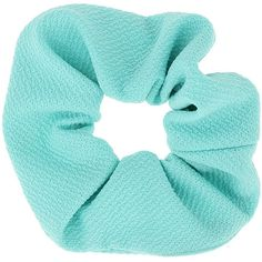 TOPSHOP Pastel Green Hair Scrunchie (53 MXN) ❤ liked on Polyvore featuring accessories, hair accessories, fillers, hair, blue fillers, green, topshop hair accessories, blue hair accessories, metal hair accessories and green hair accessories