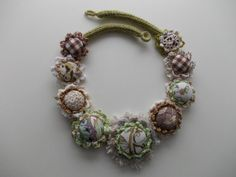 Delicate Birch  handmade crochet necklace with by AccessoriesLilit, $69.00